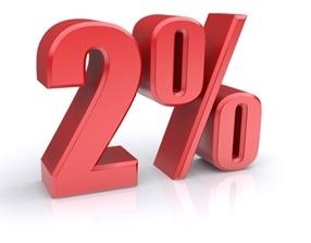 2 Percentá pre upc